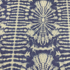 Tie-Dye Organic Cotton Stretch Denim - Nature's Fabrics