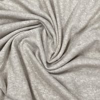 Tan Hemp Slub Jersey - Nature's Fabrics