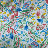 Seashells on Cotton/Spandex Jersey - Nature's Fabrics