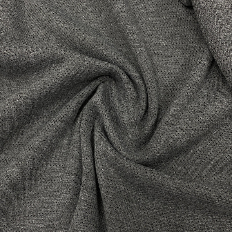 Navy/Gray Double Merino Wool Coating