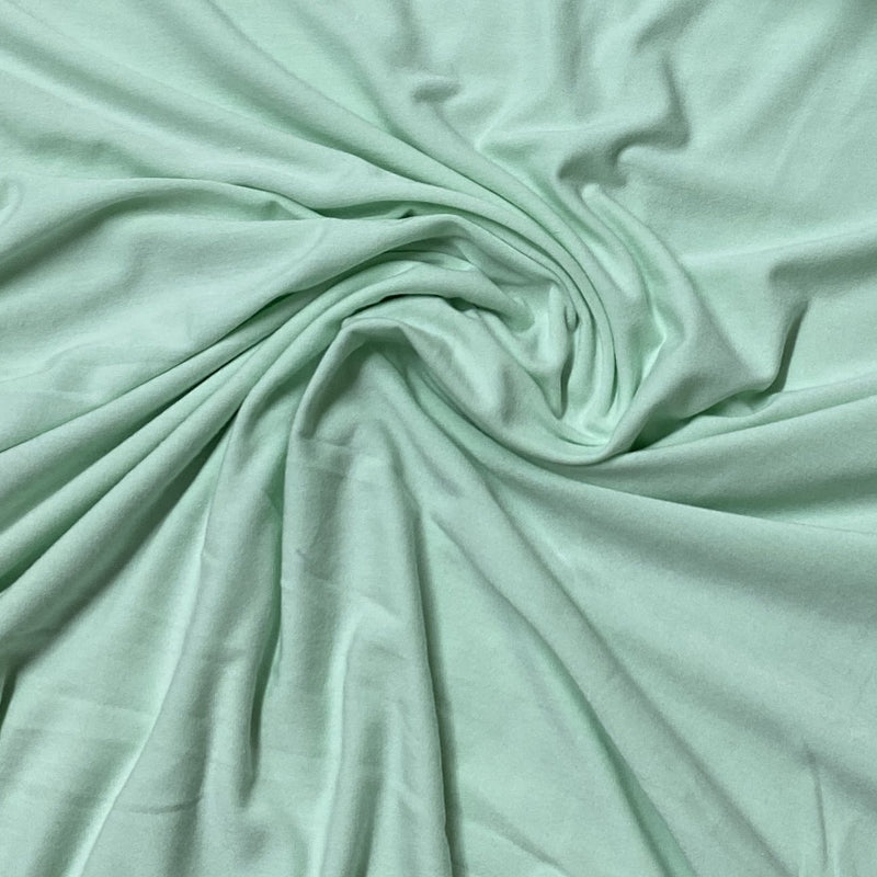 Mint Bamboo/Spandex Jersey - 200 GSM