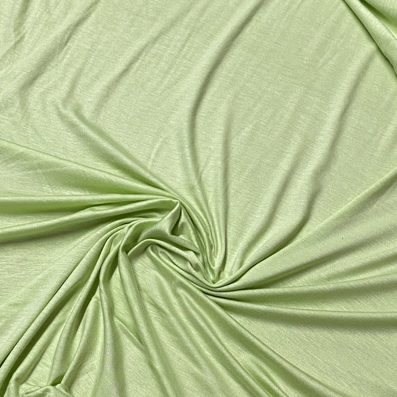 Light Green Bamboo/Spandex Jersey - 200 GSM