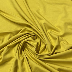 Golden Yellow Bamboo/Spandex Jersey