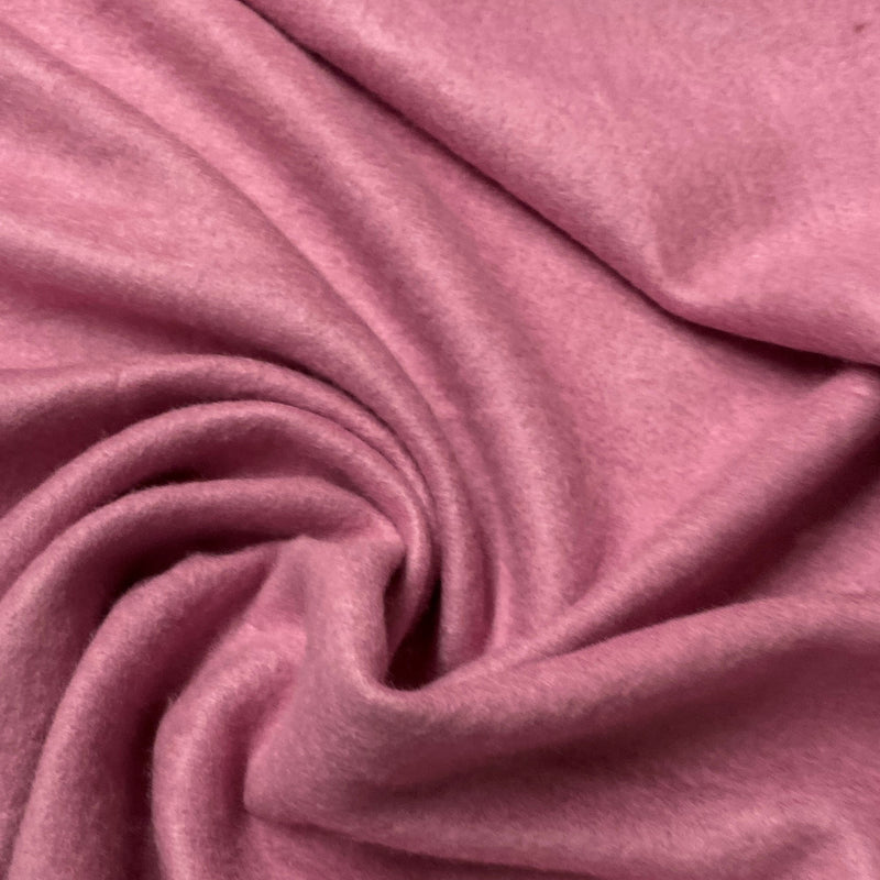 Rose Bamboo Hemp Fleece - Nature's Fabrics