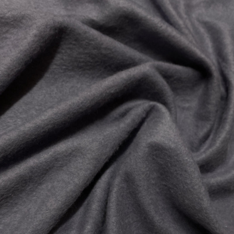 Lavender Gray Bamboo Hemp Fleece - Nature's Fabrics