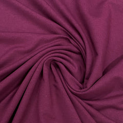 Merlot Bamboo Stretch French Terry