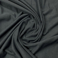Dark Shadow Bamboo Stretch French Terry