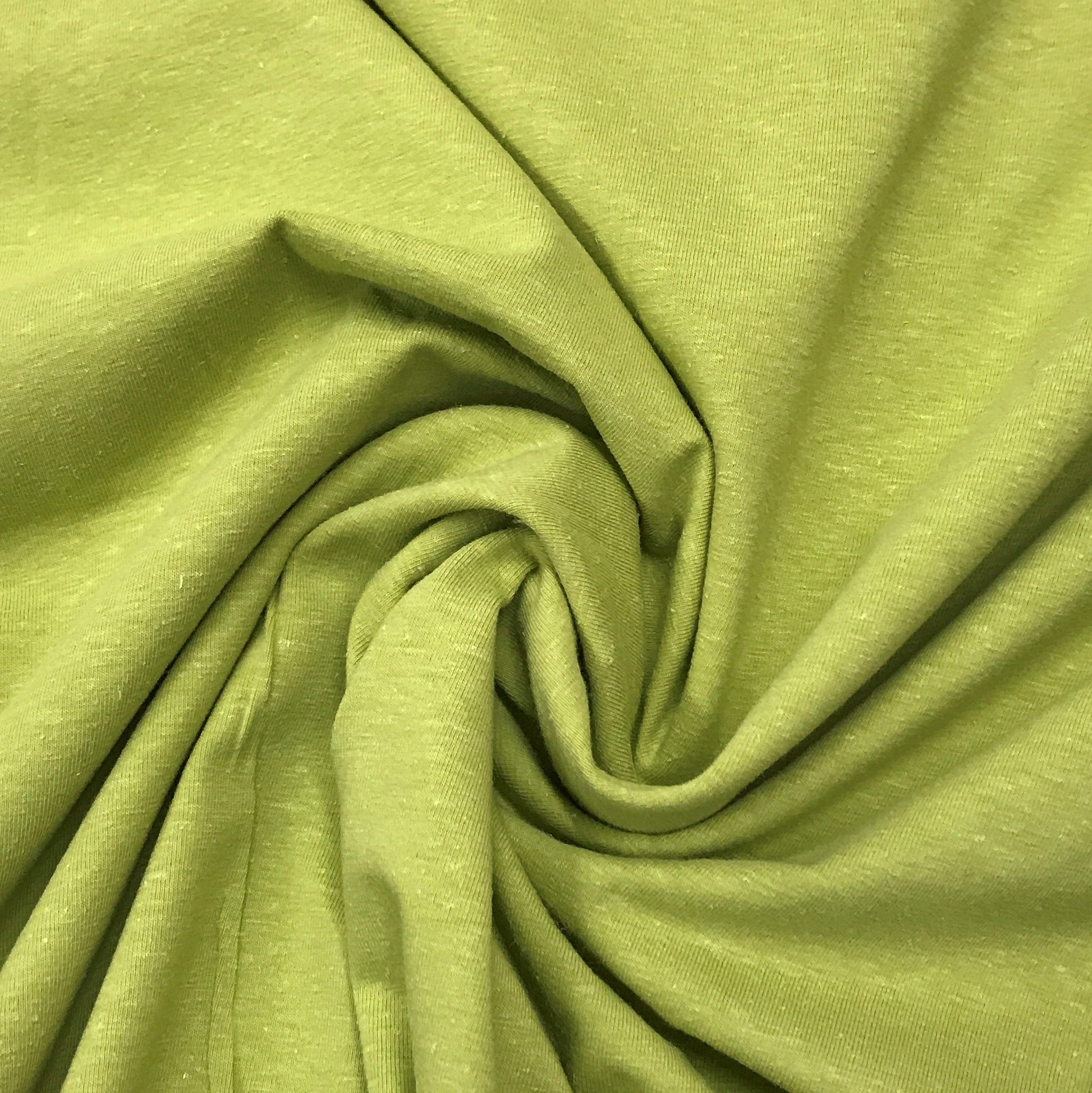 9f42b406e17 Golden Green Hemp Stretch Jersey | Nature's Fabrics
