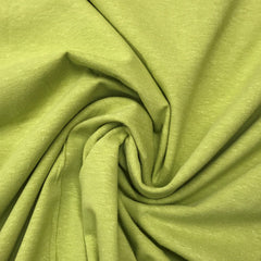 Golden Green Hemp Stretch Jersey