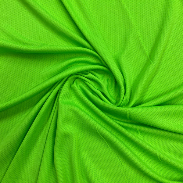 Lime Polyester Athletic Wicking Jersey