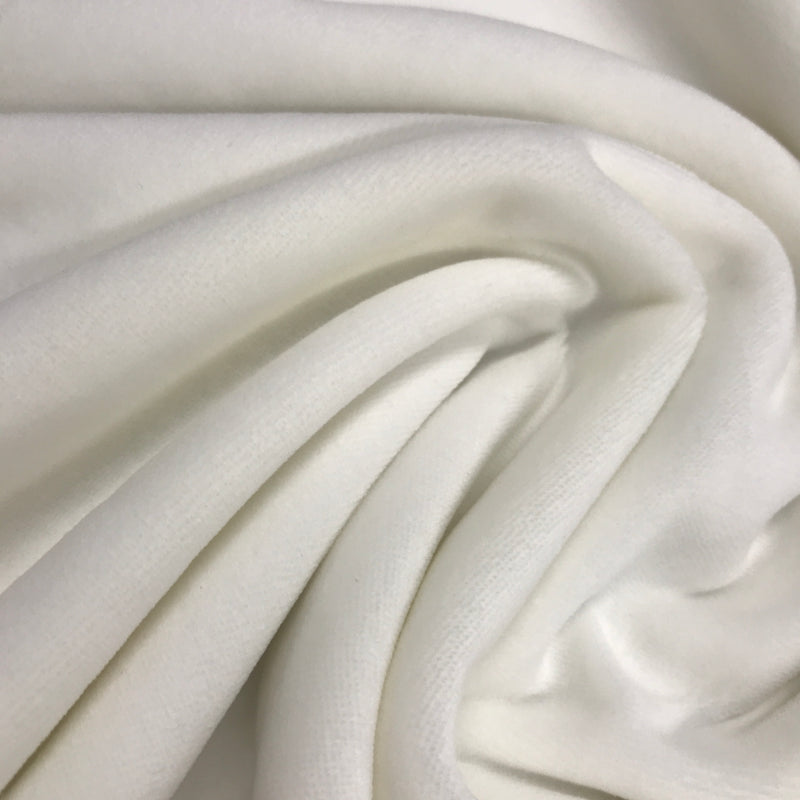 Organic Cotton Velour Imported, $7.63/yd -Rolls