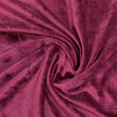Mulberry Bamboo Velour, $8.90/yd -Rolls
