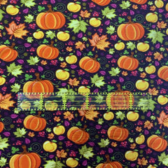 Pumpkin Patch on Bamboo/Spandex Jersey