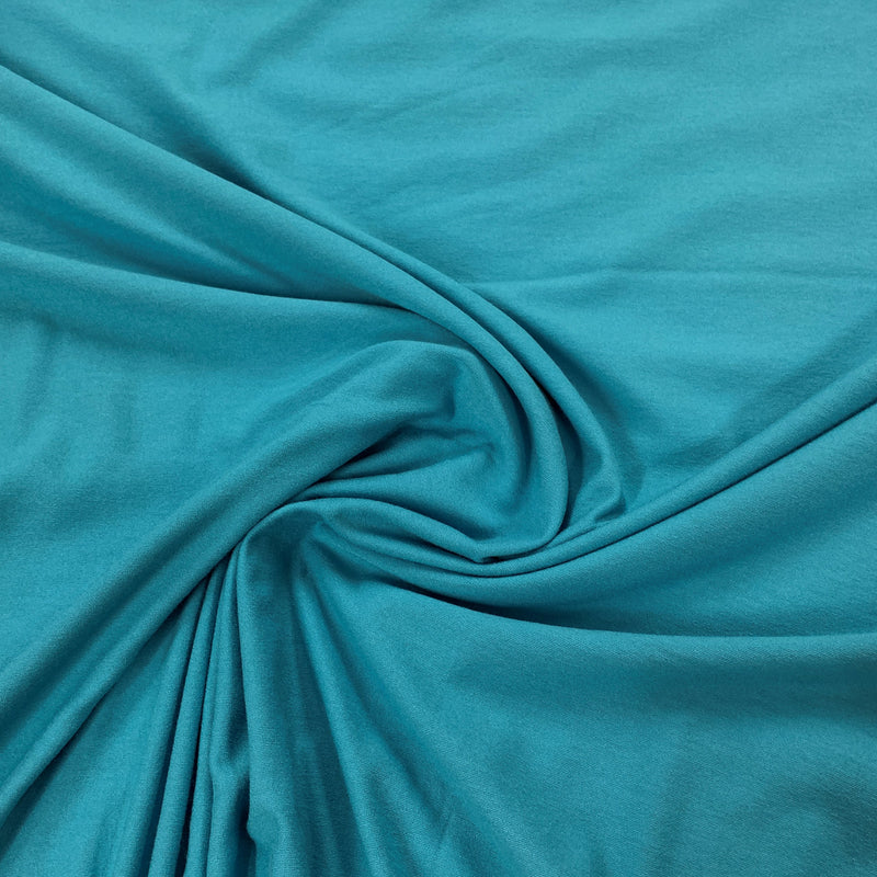 Turquoise Rayon/Spandex Jersey