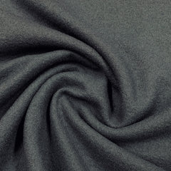 Slate Gray Boiled Wool