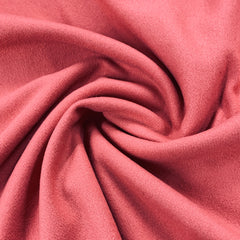 Salmon Brushed Merino Wool/Cashmere Coating