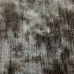 Gray Marble Cotton Velour