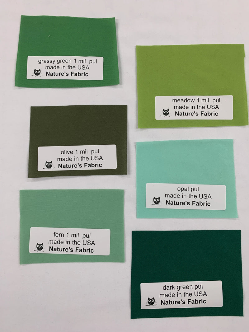 Fabric Sample Pack - 1 mil PUL Assortment