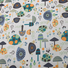 Snails in the Mushroom Forest 1 mil PUL - Made in the USA