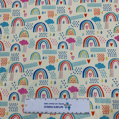Rainbow Showers 1 mil PUL - Made in the USA