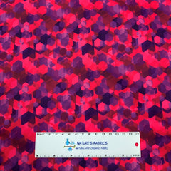 Pink Kaleidoscope 1 mil PUL - Made in the USA