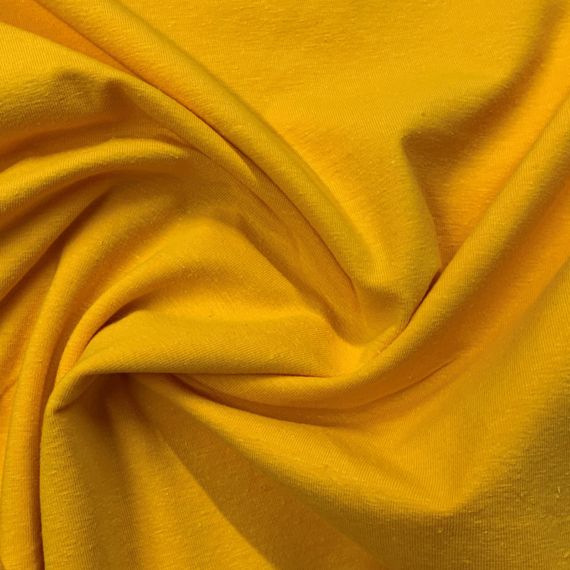 Daffodil Hemp Stretch Jersey