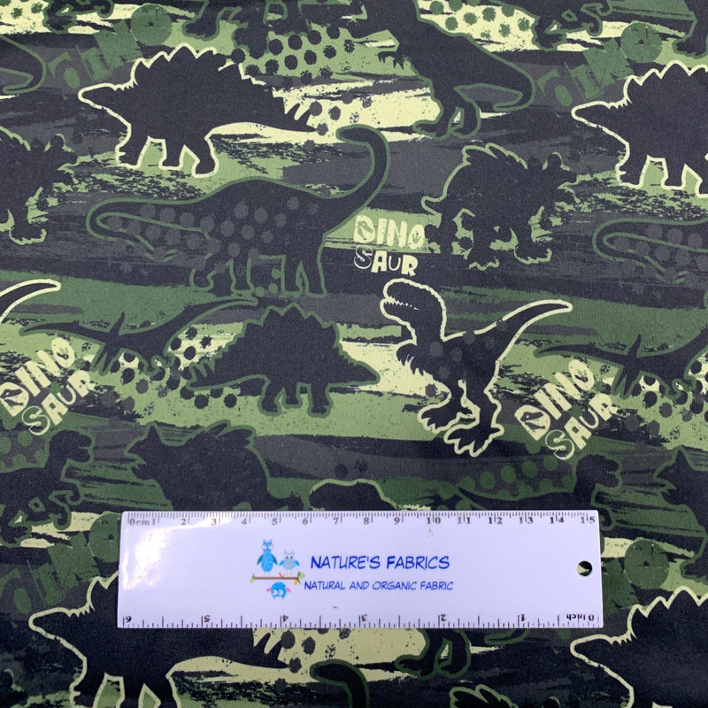 Dinosaur Camo 1 mil PUL - Made in the USA