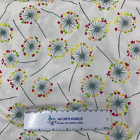 Dandelion Hearts 1 mil PUL - Made in the USA - Nature's Fabrics