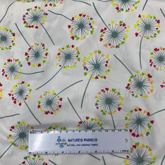 Dandelion Hearts 1 mil PUL - Made in the USA