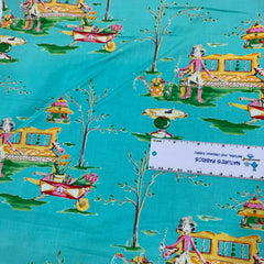 Girl Garden 100% Cotton Woven