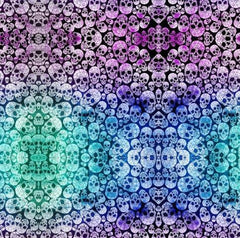 Skull Ombre 1 mil PUL - Made in the USA - Nature's Fabrics