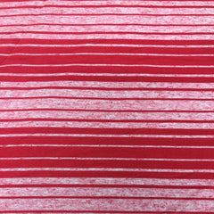 Red Stripes on Bamboo/Spandex Jersey