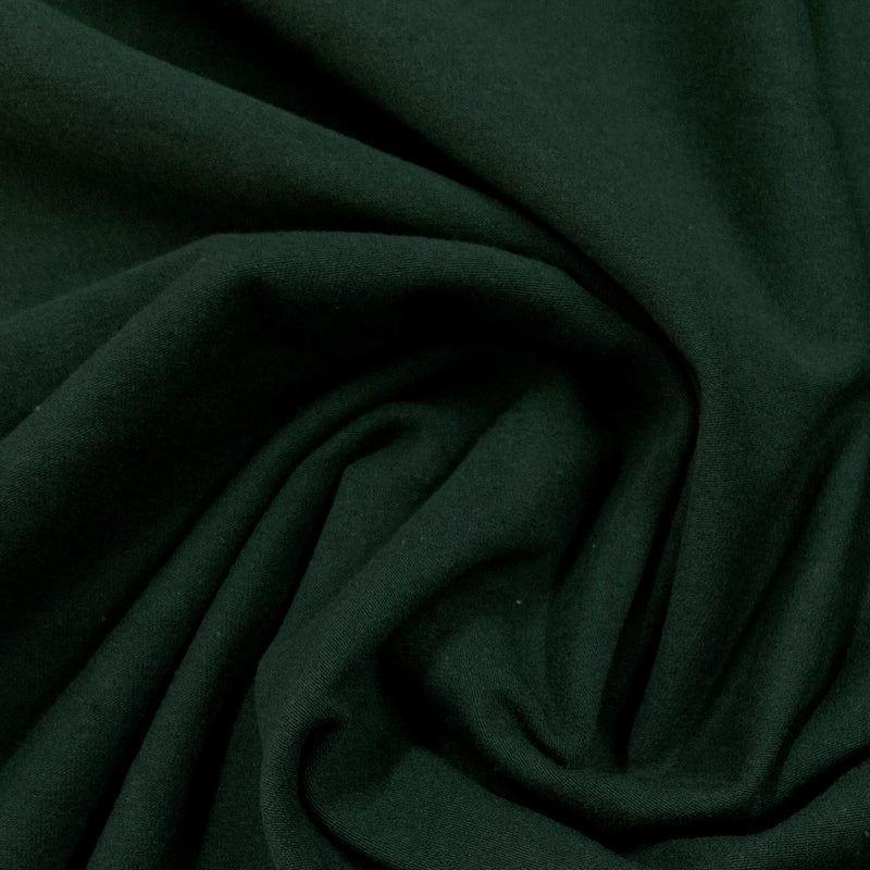 Scarab Green Organic Cotton/Spandex Jersey - Grown in the USA