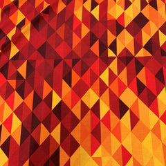 Autumn Abstract on Bamboo/Spandex Jersey