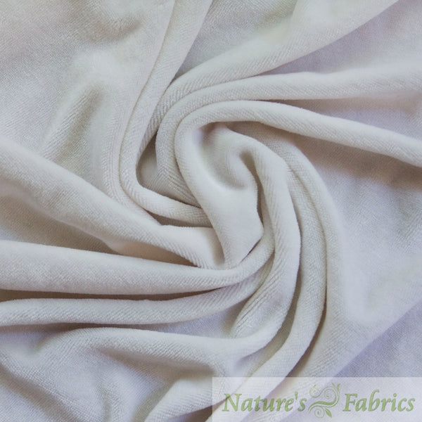 Bamboo / Organic Cotton Velour