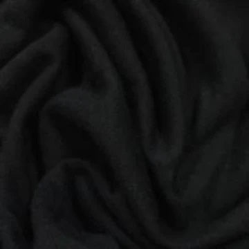 Black Bamboo Hemp Stretch Jersey - 310 GSM, $14.15/yd, 15 Yards