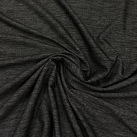 Black Heather Poly/Spandex Jersey - Jegging Fabric