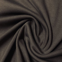 Brown Cotton Interlock