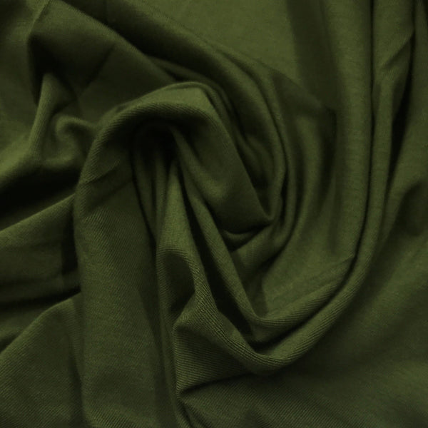 Capulet Olive Bamboo/Spandex Jersey