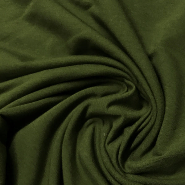 Capulet Olive Bamboo Stretch French Terry