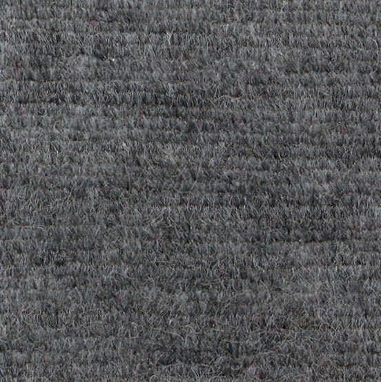 Charcoal Heather Cotton Velour