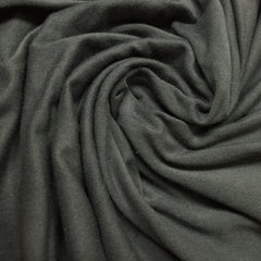 Darkest Gray Bamboo/Spandex Rib Knit