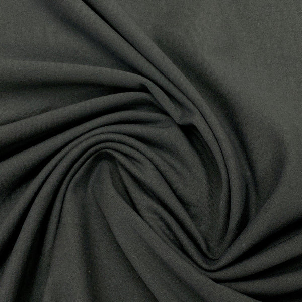Charcoal Gray Cotton/Spandex Jersey - 240 GSM