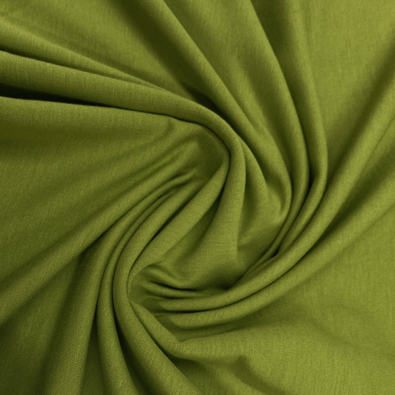 Chartreuse Bamboo Stretch French Terry
