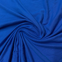 Medium Blue Cotton Jersey - Nature's Fabrics