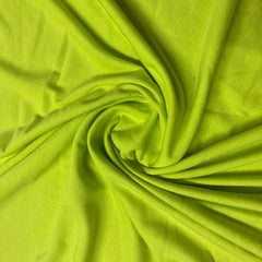 Neon Green Cotton Jersey