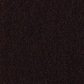 "Chocolate 97% Merino Wool, 3% Spandex, Organic Wool Interlock Blend -Felted 28"" cut"