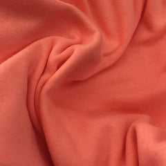Coral Cotton Interlock