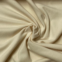Ivory Cotton/Spandex Jersey - 240 GSM