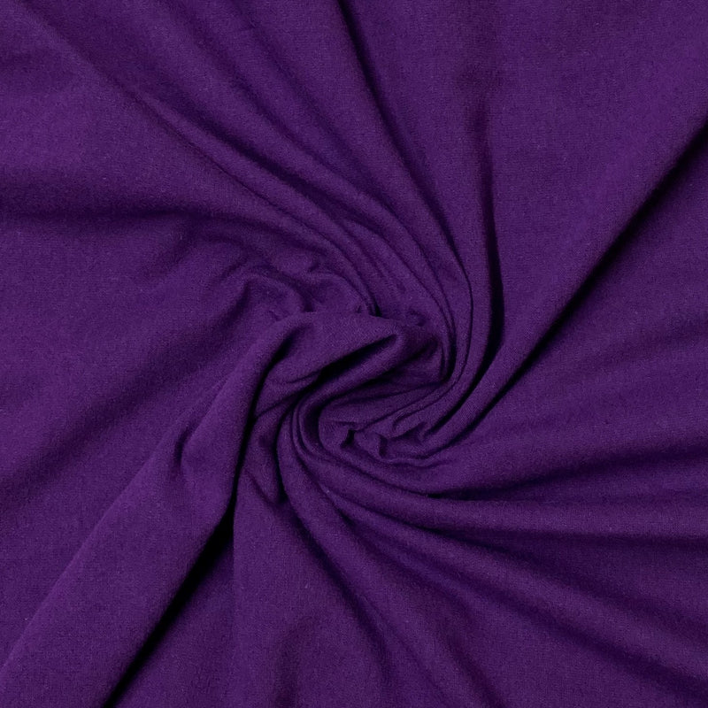 Purple Cotton/Spandex Jersey